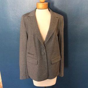 Lane Bryant gray blazer size 16